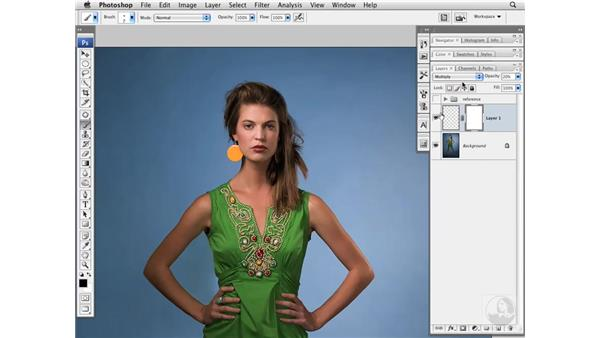 Enhancing lips: Photoshop CS3 Portrait Retouching Essentials