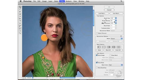 Changing facial expressions: Photoshop CS3 Portrait Retouching Essentials