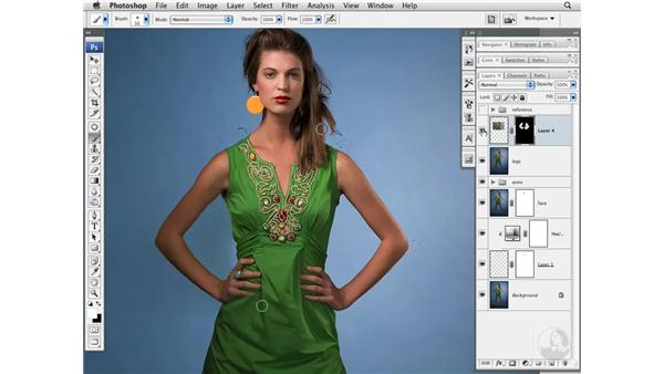 Increasing height: Photoshop CS3 Portrait Retouching Essentials