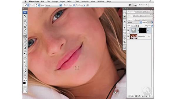 Evening skin tone: Photoshop CS3 Portrait Retouching Essentials