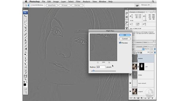 Project 1 pt. 2: Softening the skin: Photoshop CS3 Portrait Retouching Essentials