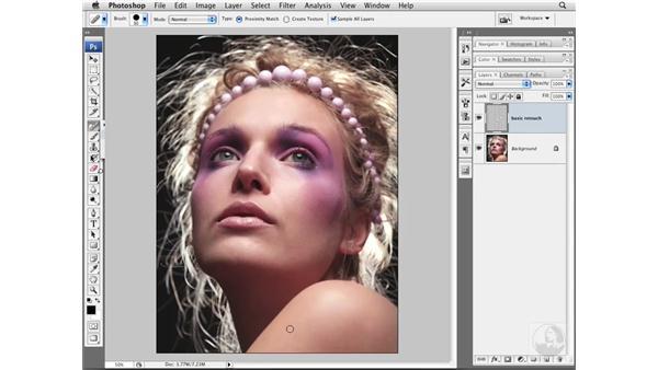Project 2 pt. 1: Basic retouching: Photoshop CS3 Portrait Retouching Essentials