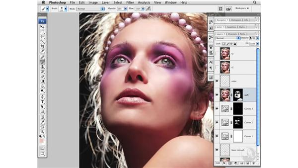 Project 2 pt. 3: Softening skin: Photoshop CS3 Portrait Retouching Essentials