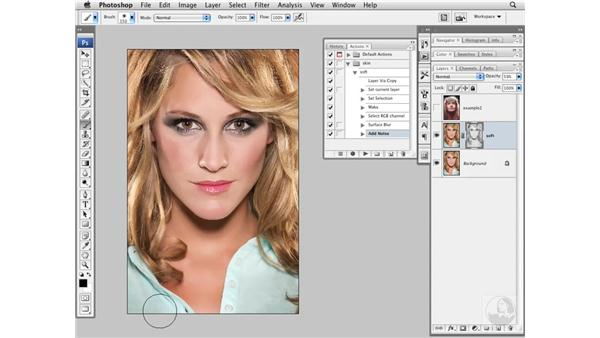 Project 3: Quick skin softening: Photoshop CS3 Portrait Retouching Essentials