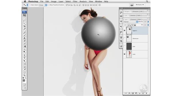 Project 5 pt. 3: Adding dimension: Photoshop CS3 Portrait Retouching Essentials