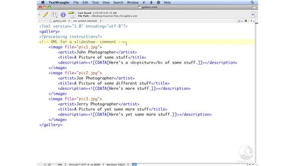 Exploring an XML file: ActionScript 3.0: Working with XML