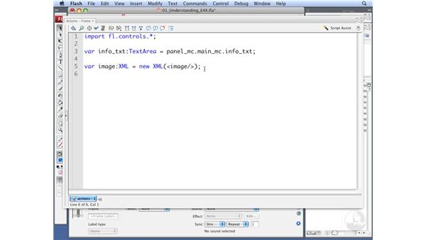 Understanding E4X syntax: ActionScript 3.0: Working with XML