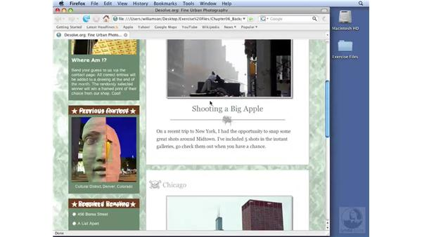Image replacement techniques: Dreamweaver CS3 with CSS Essential Training