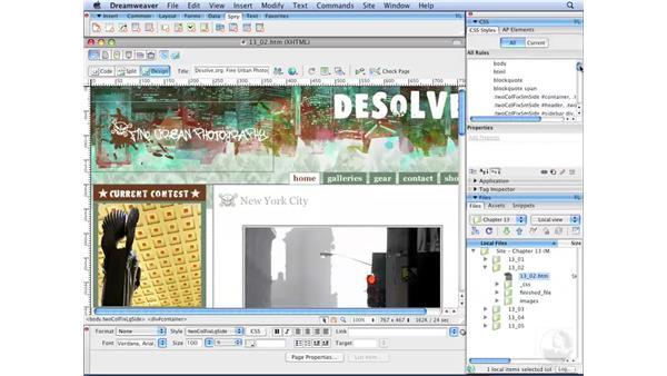 Adobe's CSS Advisor: Dreamweaver CS3 with CSS Essential Training