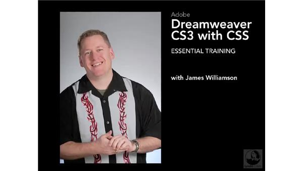 Goodbye: Dreamweaver CS3 with CSS Essential Training