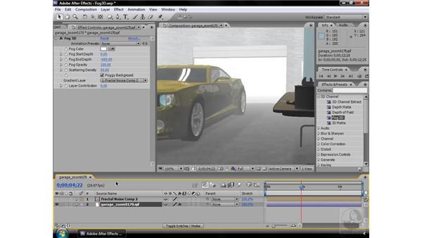 Fog 3D effect: After Effects CS3 Effects