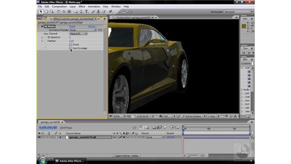 ID Matte effect: After Effects CS3 Effects