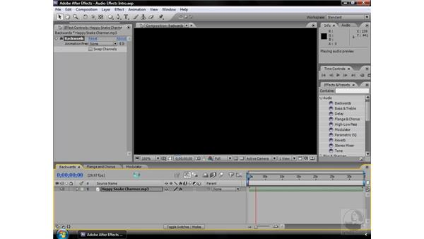 About Audio effects: After Effects CS3 Effects