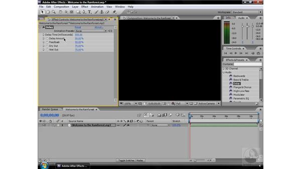 Delay effect: After Effects CS3 Effects