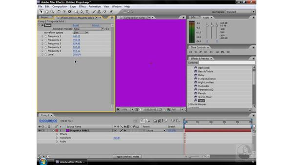 Tone effect: After Effects CS3 Effects