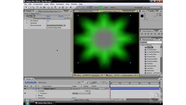 Box Blur effect: After Effects CS3 Effects