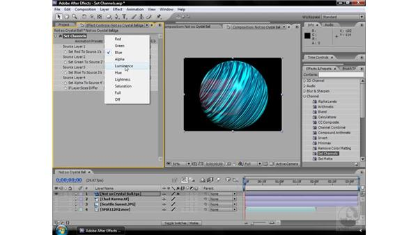 Set Channels effect: After Effects CS3 Effects