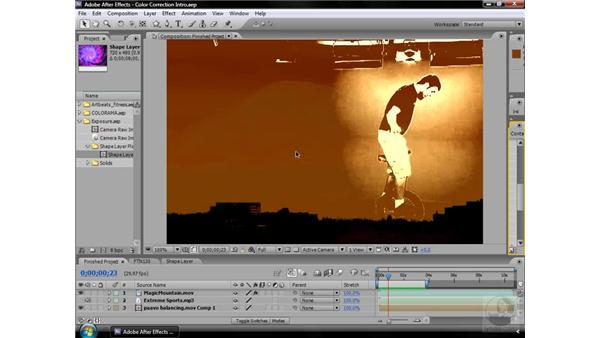 About Color Correction effects: After Effects CS3 Effects