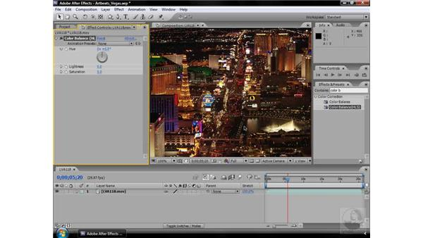 Color Balance (HLS) effect: After Effects CS3 Effects