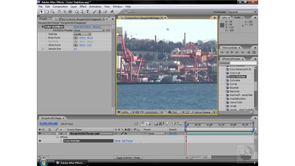 Color Stabilizer effect: After Effects CS3 Effects