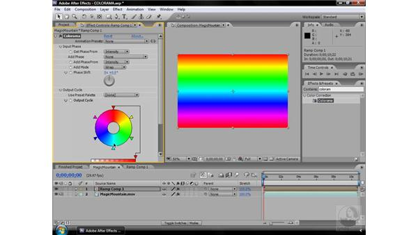 Colorama effect: After Effects CS3 Effects