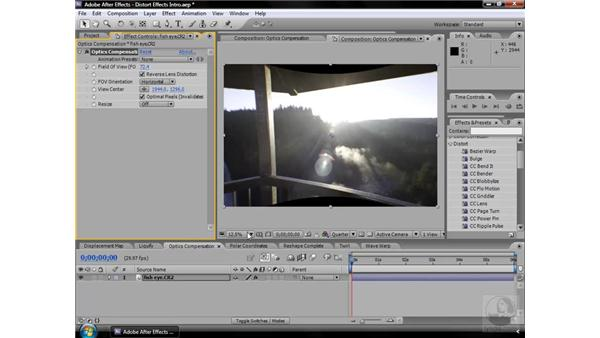About Distort effects: After Effects CS3 Effects