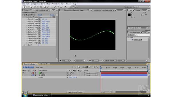 Bezier Warp effect: After Effects CS3 Effects