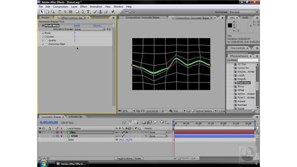 Mesh Warp effect: After Effects CS3 Effects