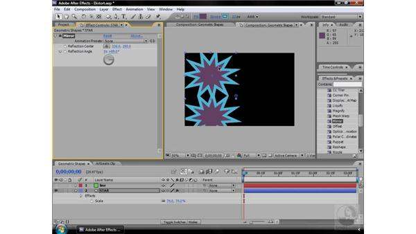 Mirror effect: After Effects CS3 Effects