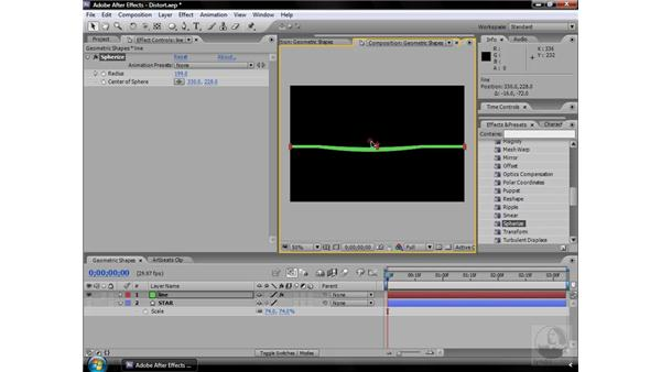Spherize effect: After Effects CS3 Effects