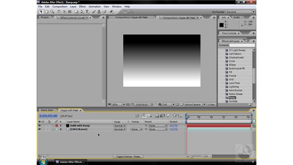 Ramp effect: After Effects CS3 Effects