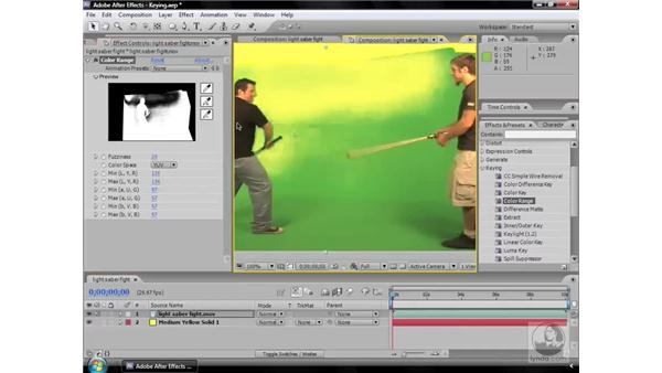 Color Range effect: After Effects CS3 Effects