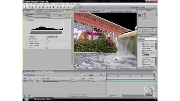 Extract effect: After Effects CS3 Effects