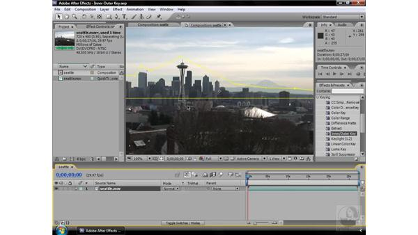 Inner/Outer Key effect: After Effects CS3 Effects