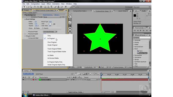 About Paint effects: After Effects CS3 Effects