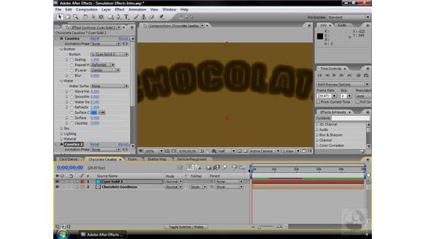 About Simulation effects: After Effects CS3 Effects