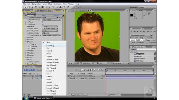Card Dance effect: After Effects CS3 Effects