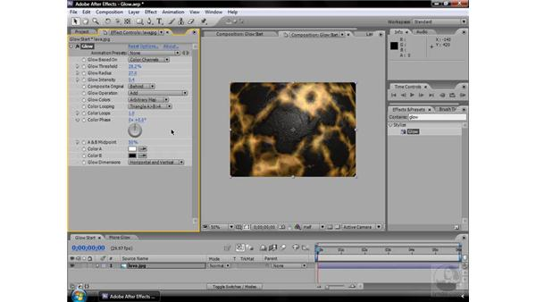 Glow effect: After Effects CS3 Effects