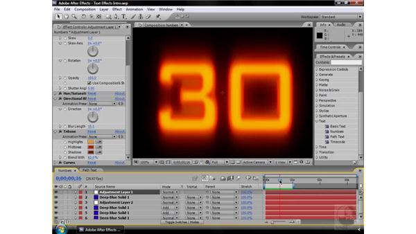 About Text effects: After Effects CS3 Effects