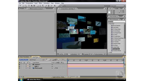 About Transition effects: After Effects CS3 Effects
