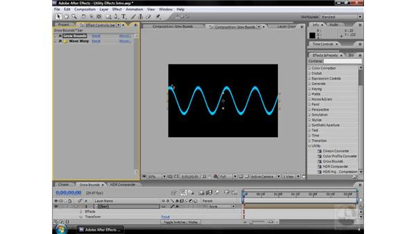 About Utility effects: After Effects CS3 Effects