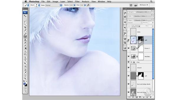 Softening the image: Photoshop CS3 Portrait Retouching Techniques