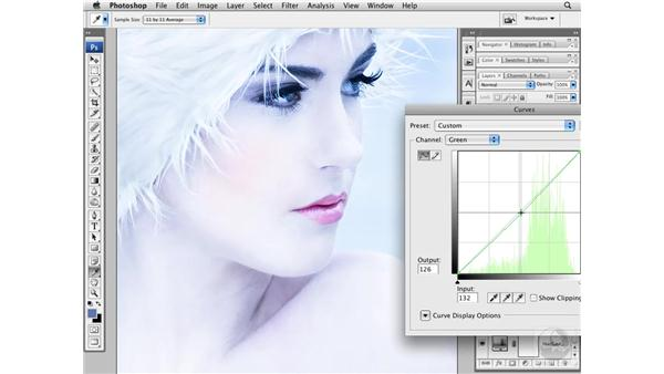 Adding color: Photoshop CS3 Portrait Retouching Techniques