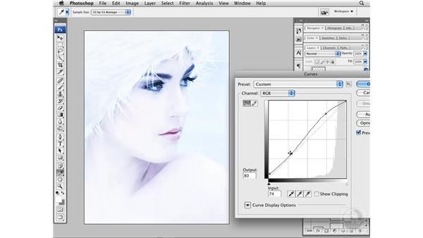 Sharpening and final image review: Photoshop CS3 Portrait Retouching Techniques