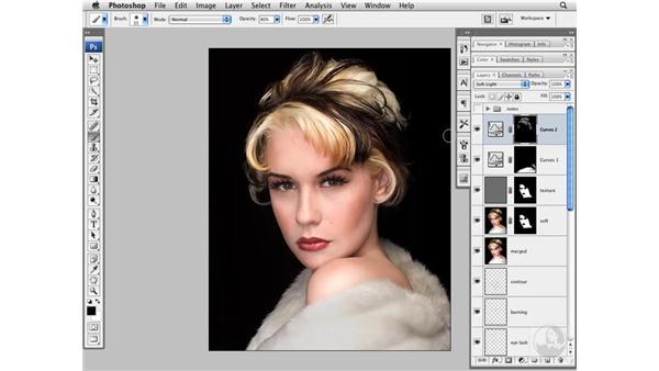 Enhancing color and tone: Photoshop CS3 Portrait Retouching Techniques