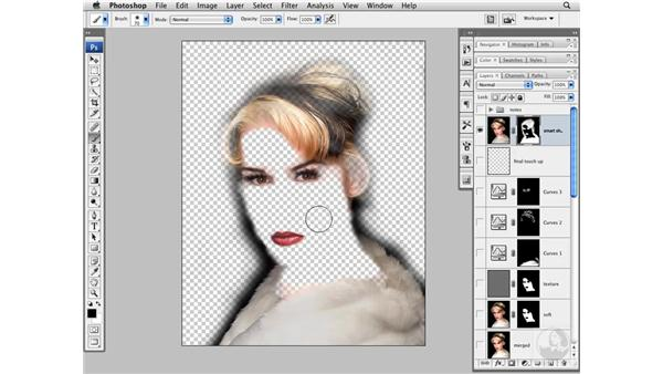 Sharpening and final image review: Photoshop CS3 Portrait Retouching Techniques