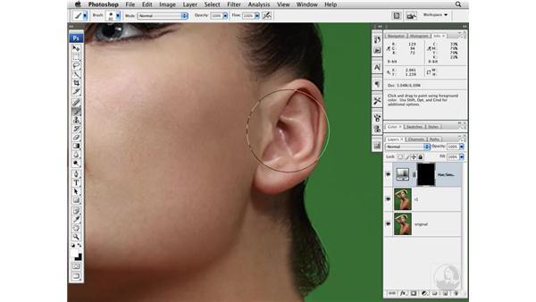 Improving skin color: Photoshop CS3 Portrait Retouching Techniques