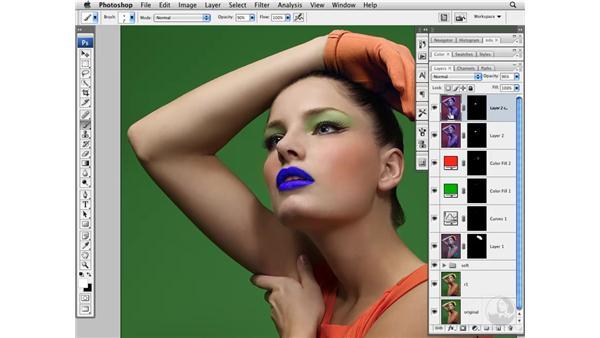 Enhancing lip color creatively: Photoshop CS3 Portrait Retouching Techniques