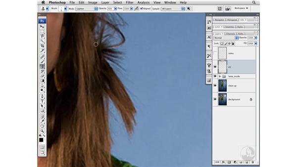Basic cleanup of a model: Photoshop CS3 Portrait Retouching Techniques