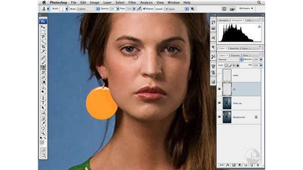 Cleaning up skin: Photoshop CS3 Portrait Retouching Techniques